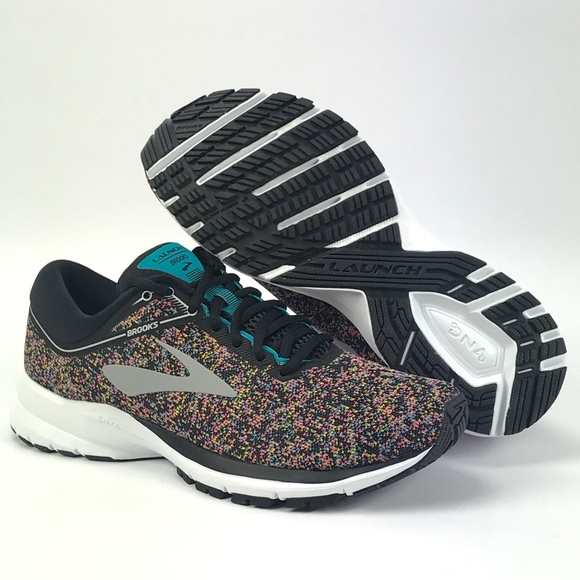 the best attitude 9147b 2bc9d Brooks Womens Launch 5 Multi Color Running Shoes NWT